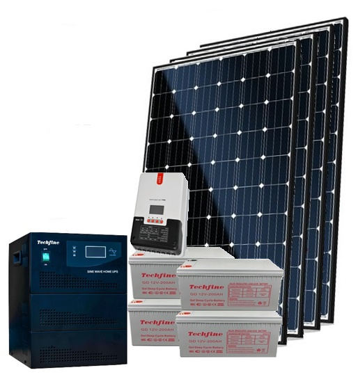 Techfine 5kva Solar Inverter Generator Nexgen Energy