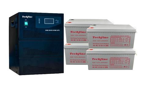 Techfine 5kva Inverter Generator